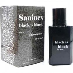 SANINEX PERFUME PHeROMONES BLACK IS BLACK MEN