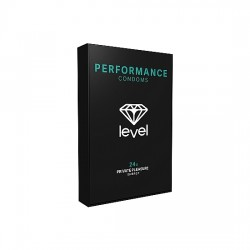 PRESERVATIVOS LEVEL PERFORMANCE CONDOMS 24UDS