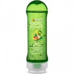 GEL DE MASAJE CONTROL EXOTIC ESCAPE 200ML