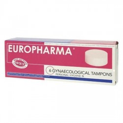 EUROPHARMA TAMPONES 6 Unid