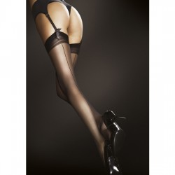 MARLENA STOCKINGS MEDIAS ACABADO MATE 20 DEN NEGRO