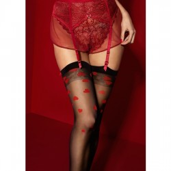 ALICE STOCKINGS 20 DEN NEGRO