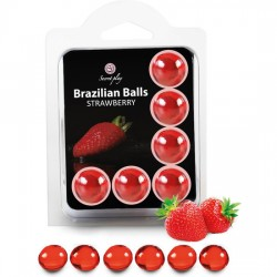 SECRET PLAY SET 6 BRAZILIAN BALLS AROMA FRESA
