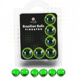 SECRET PLAY SET 6 BRAZILIAN BALLS VIBRACIoN MENTA