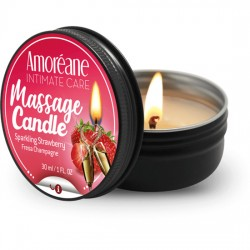 MASSAGE CANDLE SPARKLING STRAWBERRY