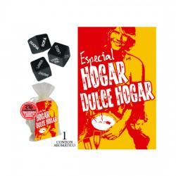 PACK DADOS BOLSA ORGANZA HOGAR DULCE HOGAR