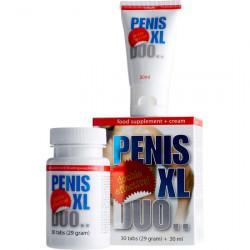 PENIS XL DUO PACK CAPSULAS Y CREMA